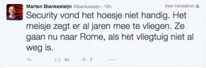 fonte: Twitter @blankesteijn