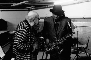 Misha Mengelberg, Archie Shepp 30.11.2004 / the Final Concert at the Oude Schans © Francesca Patella