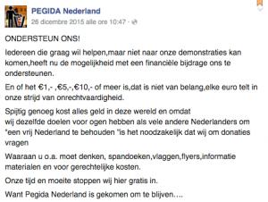fonte: facebook - PegidaNederland