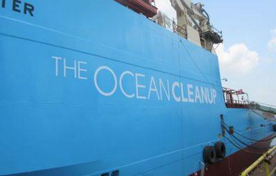 Ocean Clean Up oceani plastica