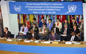 The establishment of the International Criminal Court in 1998