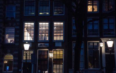 la vita privata nelle case ad Amsterdam