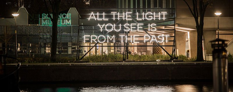 Amsterdam Light Festival - All The Light You See Is From the Past