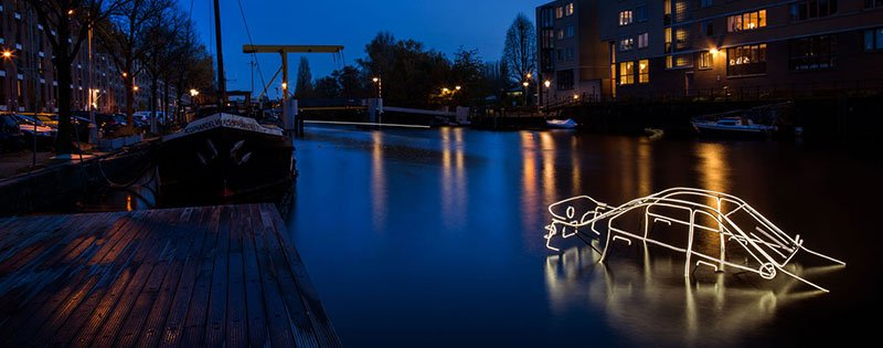 Amsterdam Light Festival 2019-Surface Tension