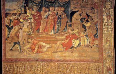 arazzi fiamminghi della Cappella Sistina