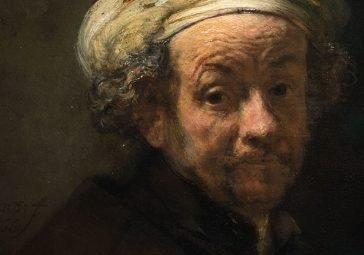 autoritratto di Rembrandt a Roma