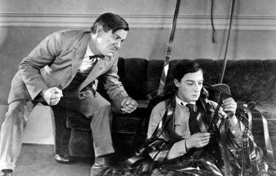 spettacolo teatrale omaggia Buster Keaton