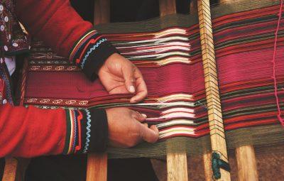 progetto di tessitura in Marocco