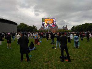 black pride protest museumplein
