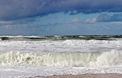 north sea waves